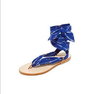 NWT Nupie Wrap Sandals